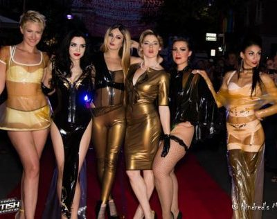 Montreal Fetish Weekend Latextacy Ball Hollywood Red Carpet Starwalk